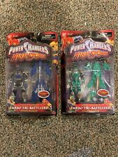 Power Rangers Ninja Storm Navy Thunder & Green Samurai