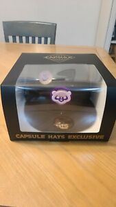 """Capsule Hats """"No Bad Brims"""" Chicago Cubs Fitted Hat Size 7 3/4 IN HAND"""