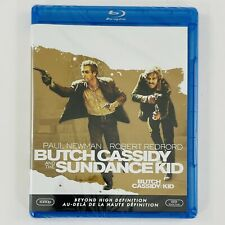 Butch Cassidy and the Sundance Kid - 1969 Film with Paul Newman (Blu-ray)
