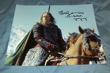 BRUCE HOPKINS AUTOGRAPH- GRAMLIMG- LORD OF THE RINGS 8x10 & PERSONAL SIGNING PIC