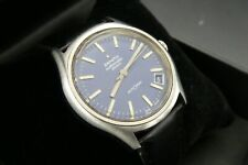 Vintage Zenith AutoSport 25j Automatic 28800 Swiss Made blue dial watch 2562 pc