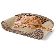 Cat Kitten Cardboard Corrugated Scratcher Scratching Sofa Board Mat Bed Pad