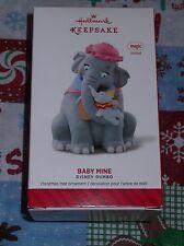 Hallmark 2014 Baby Mine Disney Dumbo Keepsake Ornament Magic Sound Christmas