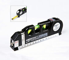 Portable Laser Edge Level Straight Line Guide Horizontal Leveler Measure Tool