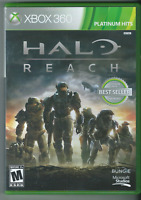 🔥🔥🔥 Halo: Reach (Platinum Hits) (Xbox 360, 2010) (Complete w/ Manual) 🎮🎮🎮