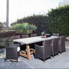 Wooden Dining Furniture Sets with 9 Pieces