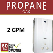 Tankless Hot Water Heater 2 GPM Marey Propane Gas LPG Instant On Demand 1 Bath