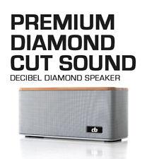 Altavoz de bambú deci-Diamante Altavoz Bluetooth Inalámbrico total Digital