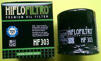 Kawasaki ER6F / ER6N (2007 to 2016) HifloFiltro OE Quality Oil Filter (HF303)
