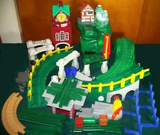 Fisher-Price GeoTrax Lot - Mile High Mountain, Clock Tower, Miscellaneous Pieces