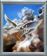 Pegasus First Flight Mythical Sue Dawe Fantasy Wall Art Decor Framed Picture