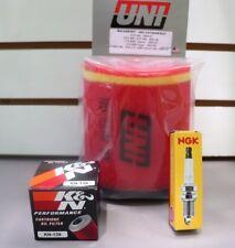 LTZ400 Tune Up Kit NGK Spark Plug K&N Oil Uni Air Filter LTZ 400 KFX400 z400 DVX