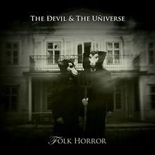 THE DEVIL & THE UNIVERSE Folk Horror LP WHITE VINYL+CD 2017 LTD.300