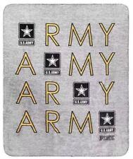 "New Victoria's Secret Pink U.S. Army Super Soft Sherpa Blanket 50"" x 60"""
