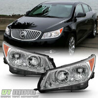 [Factory Style] Headlamps For 2010-2013 Buick LaCrosse Halogen Model Headlights