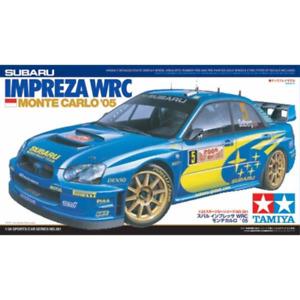 Tamiya 24281 1/24 Subaru Impreza WRC 2005 Monte Carlo Plastic Model Kit Brand Ne
