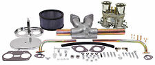 EMPI VWSINGLE 40 HPMX TYPE 1 CARB. KITS WITH CHROME AIR CLEANERS 47-7315