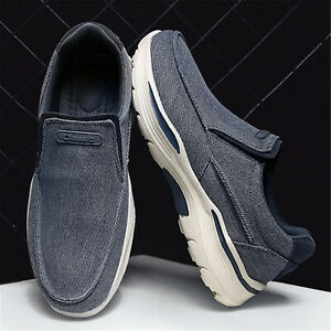 New Men's Casual Shoes Outdoor Comfortable Lightweight Low-top Canvas Shoes