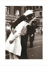 Kissing The War Goodbye VJ Day Wars End Kiss Sailor Nurse NYC Poster - 24x32