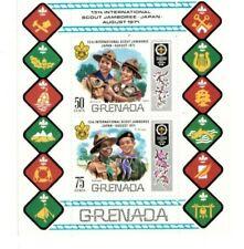 Grenada - 1971 - Boy Scouts World Jamboree  - Sheet of Two - MNH (Scott#412A)