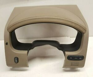 2004-2008 Ford F-150 Instrument Cluster Cover Surround Dash Bezel Tan Leather
