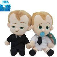 "8"" The Boss Baby Movie Plush Soft Stuffed Toys Kids Birthday Xmas Gifts Doll US"