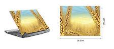 "Aufkleber Skin Case Cover f. 15.6"" Notebook Laptop FELD NATUR GETREIDE  NEU"