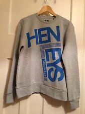 Men's Henleys Grey Originals Long Sleeve Sweatshirt Size M