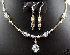 Gorgeous! Czech Crystal jewelry set