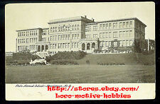 LMH Postcard UBE Undivided Back  STATE NORMAL SCHOOL College Grounds Providence