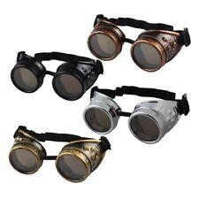 1Pc Steampunk Brille ABS Goggles Schweißerbrille Accessoire Burning #.