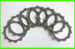 Yamaha DT250 Clutch Friction Disc Set 1977 1978 1979 Motorcycle 7pc