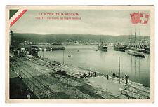 Panorama Dal Bagno Santana - Trieste Photo Postcards c1920s