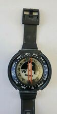 Oceanic Wrist Mount Compass for Underwater Navigation/Scuba Diving, Glow in Dark