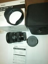 SIGMA 24-70mm F2.8 Art DG OS HSM ZOOM LENS for CANON NEW in FACTORY BOX & CASE