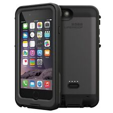 Authentic Lifeproof Fre Power Battery Charging Case For iPhone 6 6s -Black -Used