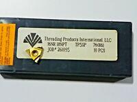 10 PIECES of TPI, 16NR 18NPT TP5SP CARBIDE INSERTS    H365