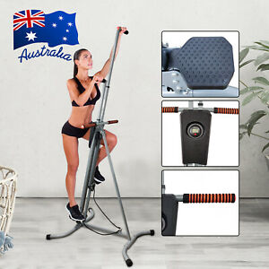 Vertical Climber Step Machine Fitness Exercise Climbing Cardio Workout Trainer A