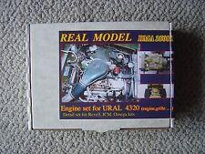 Real Model 1/35 Modern Soviet/Russian Ural 4320 Truck engine & radiator system