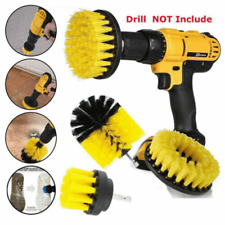 3pcs/set Drill Brush Power Scrubber Attachments For Carpet Tile Grout Cleaning