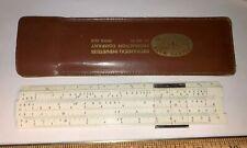 Vintage Pocket Slide Rule Made in Denmark no 601 Mechanical Industries