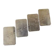 Vulcanizadoras Placas Alumium para cuatro cavidad Marco De Aluminio Para Goma Moldes Pequeños
