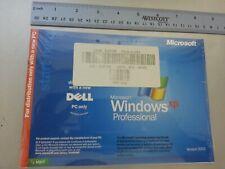 New Sealed Dell Microsoft Windows XP Professional Reinstallation Disc 2002