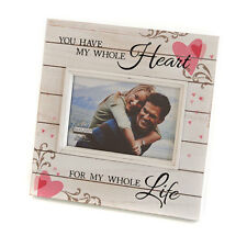 Sunwashed Woods Love Frame - 4 x 6 - Brand New