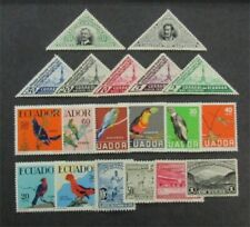 nystamps Ecuador Stamp # 377//648 Mint OG H $40