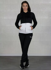 (tg. S/l 40l-42l) adidas Women Tracksuit French Terry Hood Donna White/black