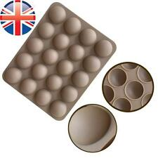 *UK Seller* Silicone 20 Cell Semi Sphere Dome Chocolate Cake Baking Mould Mold