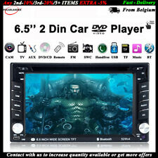 """6.5"""" 2Din Bluetooth DVD/CD Player Hand-free Touch Screen Car Radio FM AUX Stereo"""
