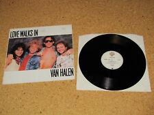 Van Halen - Love walks in - Maxi Warner Bros. Records 920 595-0