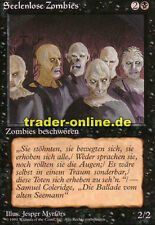 2x desalmada zombies (Scathe zombies) Magic Limited Black bordered German beta